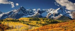 aspen fall mountains